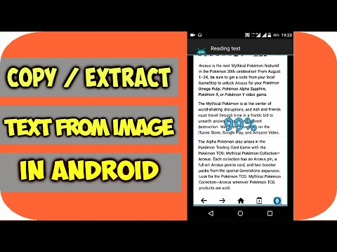 How To Copy Extract Text From Any Image In Android