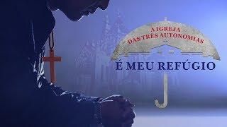 Filme gospel curta metragem A IGREJA DAS TRÊS AUTONOMIAS É MEU REFÚGIO onde estão as pegadas de Deus