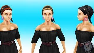 The Sims FreePlay Гламурные банданы для волос  Интернет магазин