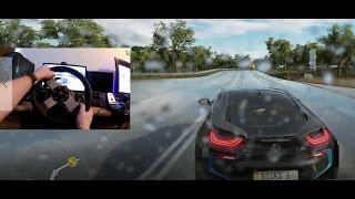 Forza Horizon 3 BMW i8 Gampelay Logitech G27 - 60 FPS HD