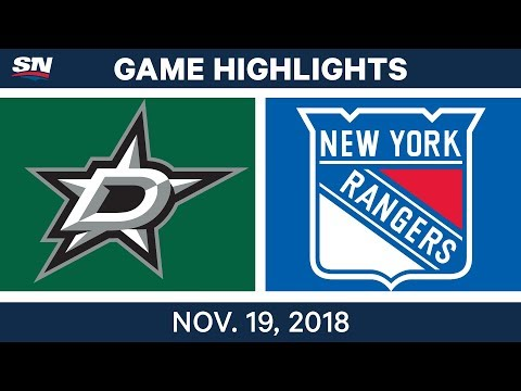 NHL Highlights | Stars vs. Rangers – Nov. 19, 2018