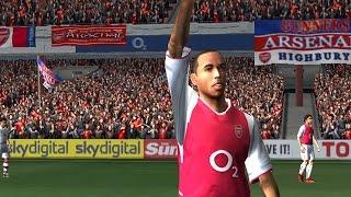 PC Retro FIFA 2003 Gameplay Arsenal vs FC Bayer Munchen