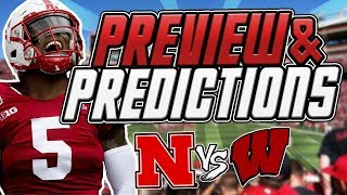 Nebraska vs Wisconsin PREDICTIONS & PREVIEW Can Husker Football Stop Jonathan Taylor? Big 10