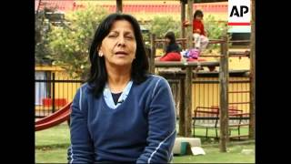 (6 Apr 2010) AP Television Bogota, Colombia, 16 February 2010 1. Va...