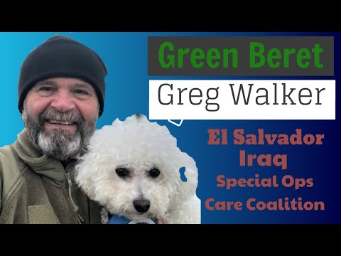 Special Forces secret missions in Central America w/ Greg Walker, Ep. 27