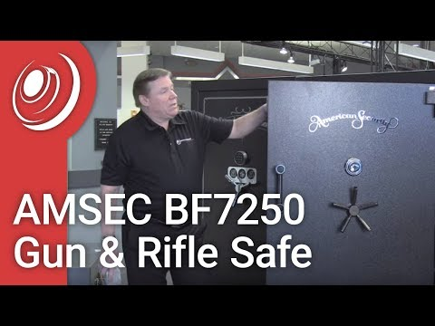 AMSEC BF7250 Gun & Rifle Safe With Dye The Safe Guy
