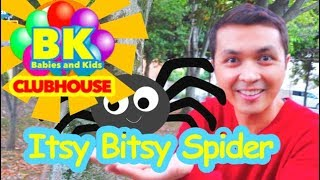NEW CHANNEL►ITSY BITSY SPIDER OUTDOOR | Babies and Kids CLUBHOUSE | Nursery Rhymes for children