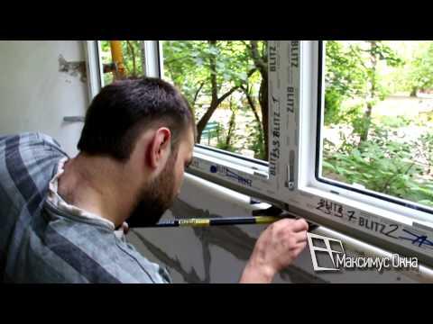 Как застеклить пластиковыми окнами балкон своими руками