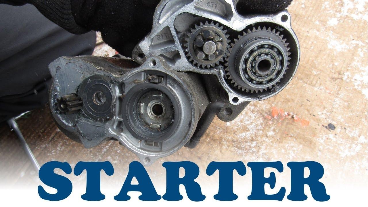 How a car starter works youtube for How a starter motor works