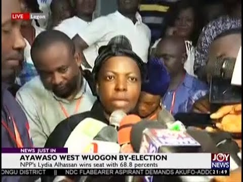 Ayawaso West Wuogon By-Election; EC declares Lydia Seyram Alhassan winner (31-1-19)