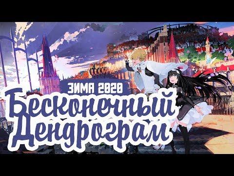 Infinite Dendrogram / аниме Бесконечный Дендрограм - В ПЛЕНУ ИГРЫ