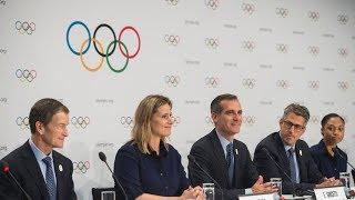 Летние Олимпийские игры 2024 и 2028 годов пройдут в Париже и Лос-Анджелесе