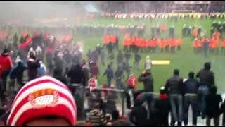 1.FC.Köln 1:4  Bayern München : Nach dem Spiel in der Südtribüne