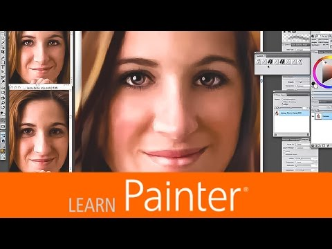 Portrait Face Painting with Portrait Photographer and Painter Master Helen Yancy