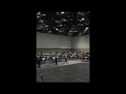 Don't use Sydney International Convention Centre for your event if you are having a band