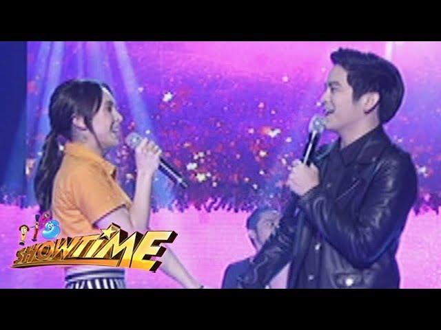 """It's Showtime: JoshLia spreads """"kilig"""" vibes with """"Hinahanap-Hanap Kita"""""""