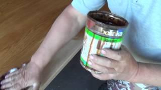 видео Оттенки морилки для дерева, эффекты тонировки. Процесс отбеливания, состаривание древесины, имитация эбенового дерева