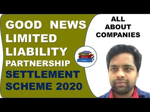 LIMITED LIABILITY PARTNERSHIP (LLP) SETTLEMENT SCHEME, 2020 II CA MANOJ GUPTA