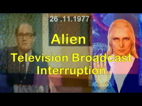 The 1977 Southern Television Alien broadcast interruption