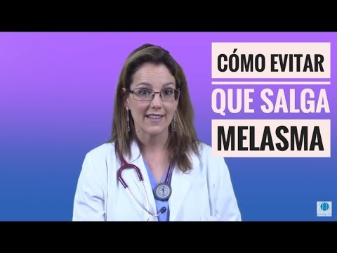 tratamiento para quitar melasma