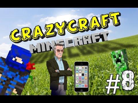 Minecraft CrazyCraft 3.0 - ทำโทรศัพท์มือถือเพื่อโทรหาStanLee Part#8