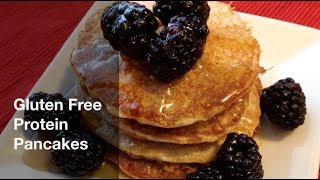 How To Make Gluten-free Protein Pancakes! Great For P90x 3 / T25 / 21 Day Fix Meals