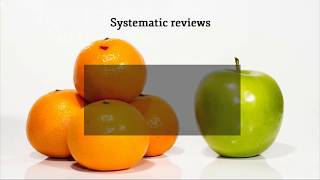 2. Systematic reviews and meta analysis