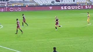 Torino - Parma 1-2 gol di Daniele Baselli