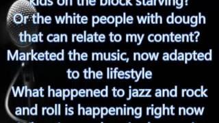 Macklemore White - Privilege (Lyrics)