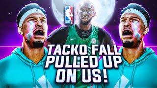 NBA 2K20 MyPARK - Tacko Fall Pulled Up On Us?! No Shot Meter = 100% GREENS!!