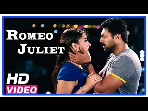Romeo Juliet Tamil Movie | Scenes | Jayam Ravi clebrates his birthday with Hansika