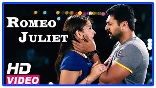 Romeo Juliet Tamil Movie   Scenes   Jayam Ravi clebrates his birthday with Hansika