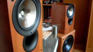 Bass i love you ,   bass test     Kef  IQ3 + Koda SW1000