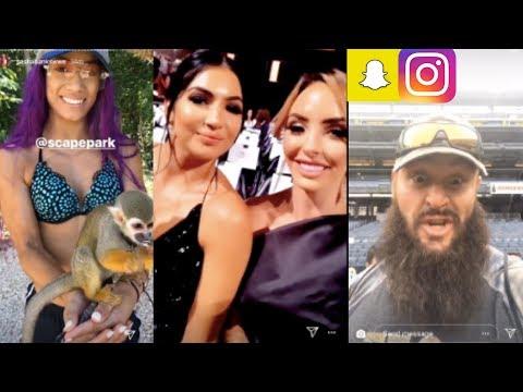 Download Wwe Snapchat Instagram Ft Sasha Banks Braun