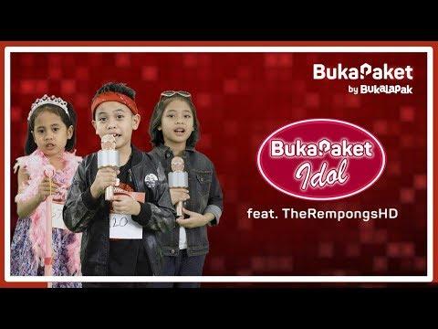 Challenge untuk The Rempongs: Audisi Penyanyi Cilik - BukaPaket Idol  BukaPaket for Kids