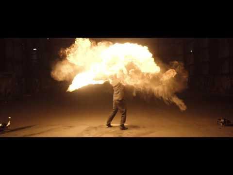 Solo fire performance showreel