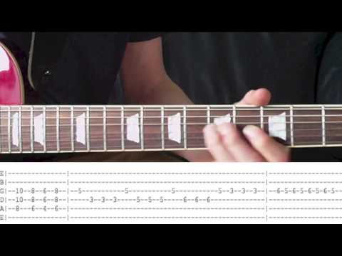 How To Play Dream On By Aerosmith - Full Guitar Lesson (With Tabs & Download)
