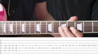 How To Play Dream On by Aerosmith - Full Guitar Lesson (With T…