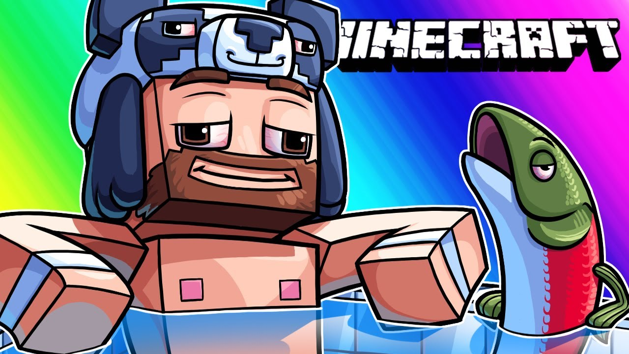 Minecraft Funny Moments - Hallenbad und Trolling Nogla! + video
