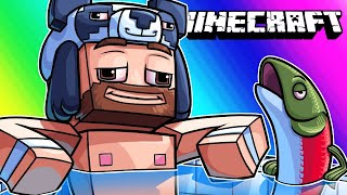 Minecraft Funny Moments - Indoor Swimming and Trolling Nogla!