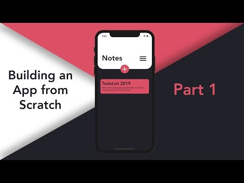 Building An App From Scratch: Designing The App | #1