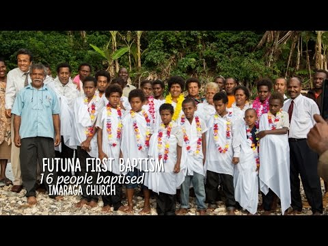 First Adventist Baptism in Futuna