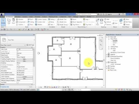Module 8: Unit 8: Revit Architecture: Rooms