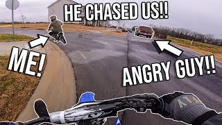 We Got CHASED Out Of NEIGHBORHOOD!! COPS CALLED!