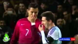 Cristiano Ronaldo & Lionel Messi Are Good Friends