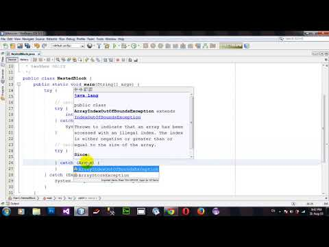 how-to-use-nested-try-block-in-java-netbeans