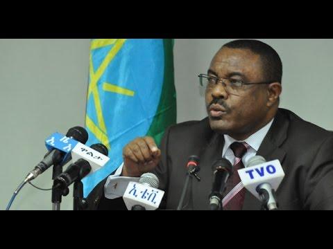 Ethiopia - P.M. Hailemariam Desalegn says USA will have no role in Ethiopian politics
