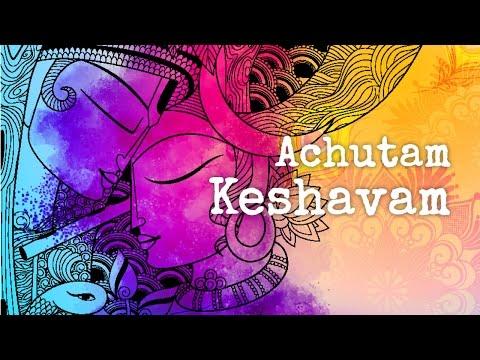 "Art of Living Bhajan ""Achutam Keshavam"" by Vikram Hazra | Krishna Bhajan Songs"