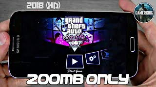 ||200MB|| GTA Vice City Lite Download On Android || Apk+Data || Proof With Gameplay