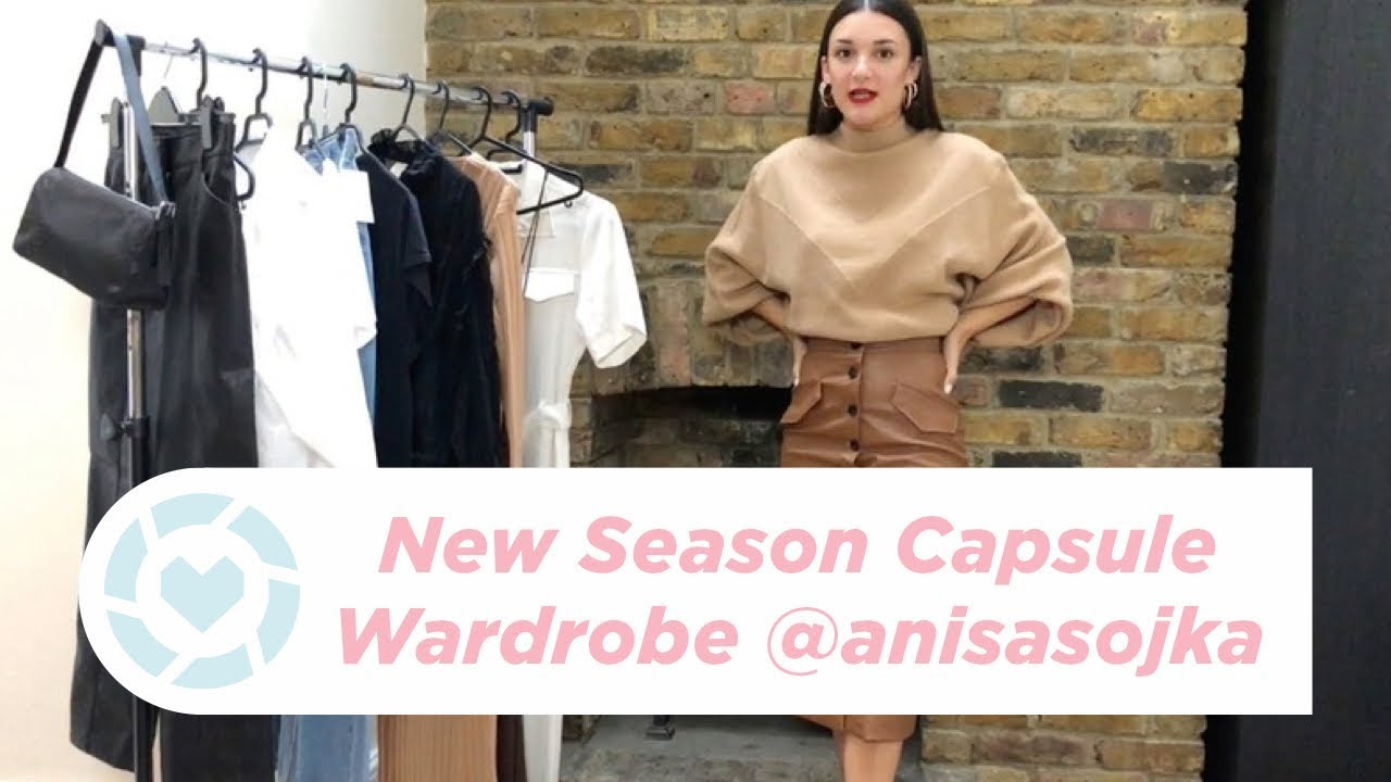 [VIDEO] - Autumn Fall Capsule Wardrobe Outfit Ideas 2019 (H&M Haul + Try-On) | Anisa Sojka 8